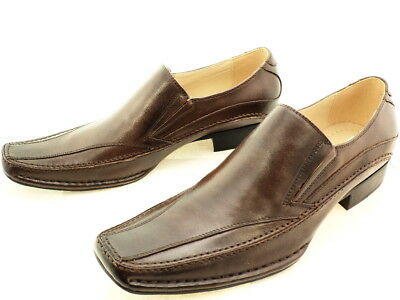 2ea37401523e6 STEVE MADDEN SHOE Brown Leather Loafers Men's US Size 10 M - $13.00 ...