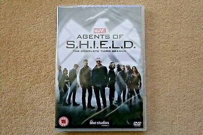 Marvel Agents Of Shield Complete Third Season ( 3 )  New Sealed Genuine Uk Dvd