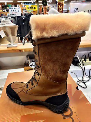53f5d3f6be1 UGG ADIRONDACK TALL Otter Brown Winter Snow Boots Womens Size 8 ...