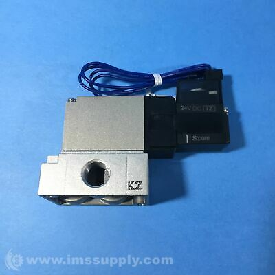 Smc Vz415 Pneumatic Solenoid Base Mounted Valve Fnip