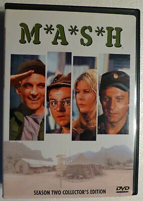MASH - Season 2 DVD 2002 3-Disc Set Collector's Edition