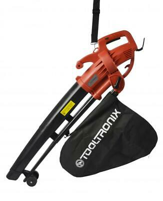 Electric 2800W Garden Leaf Blower/ Vacuum with Mulcher Built In and Bag