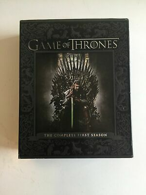 Game Of Thrones, The complete First Season, Bluray