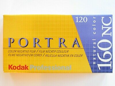 Lot: 5 Expired Rolls 120 Kodak 160Nc Portra 160 Iso Color Negative Film 137-8488
