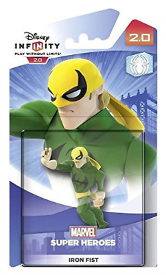 Toys-Disney Infinity 2.0 Character - Iron Fist /Video Game Toy DVD NUEVO