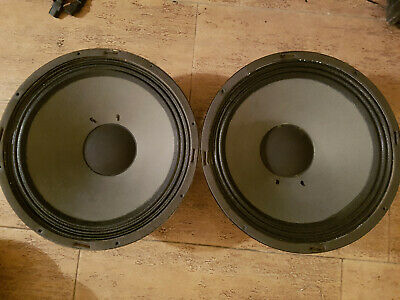 "TURBOSOUND 15"" Bass Speaker Driver 381 Original Good Condition Rare"
