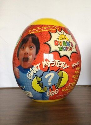 Ryan's World Mystery Egg YELLOW Surprise Egg HOT TOY 2018 NEW