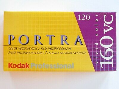 Lot: 5 Expired Rolls 120 Kodak 160Vc Portra 160 Iso Color Negative Film 856-5269