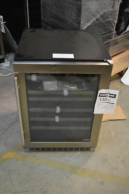 """Danby DWC053D1BSSPR 24"""" Stainless Built-In Wine Cooler NOB #13669 MAD"""