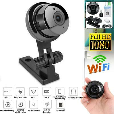 1080P Mini Wireless WIFI IP Camera HD Smart Home Security Camera IR Night Vision