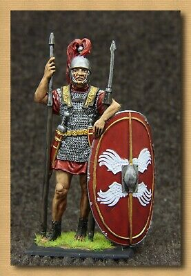 """Tin soldiers """"Ancient Rome"""" (54 mm,1/32) # A 180 color, Roman legionary"""