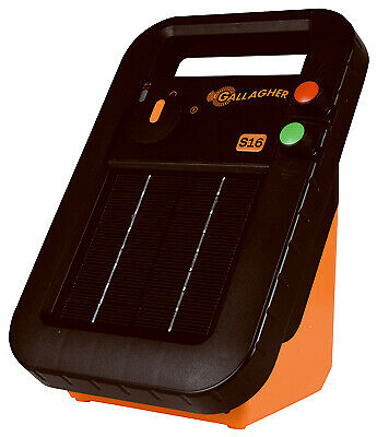 G341414 Solar Fence Charger, S19, 0.16-Joules - Quantity 1