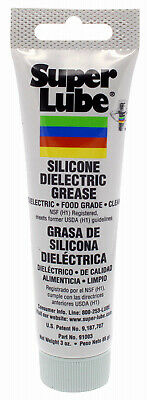 Super Lube 91003 Silicone Dielectric Grease, 3-oz. - Quantity 12