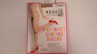 e6218cb3a SPANX Assets Stockings Nylons Pantyhose Hi- Waist Shaping Sheers 269B Black  NEW