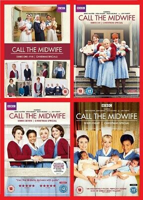 Call the Midwife Series 1-8 Complete DVD Brand New Sealed All 8 Seasons