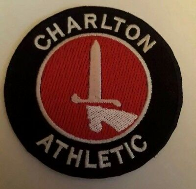 "Charlton FC 3/"" Embroidery Iron Or Sew On Patch Badge"