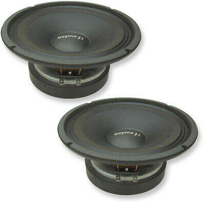 "Pair Beyma CP21F 1.5/"" 8 ohm 25W AES High Frequency Compression Slot Tweeter"