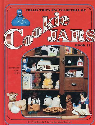 Ceramic Cookie Jars - Types Forms Makers Patterns Values Etc. / Illustrated Book