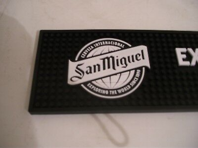 Brand new Birra Moretti thick rubber bar runner,drip mat mancave home bar