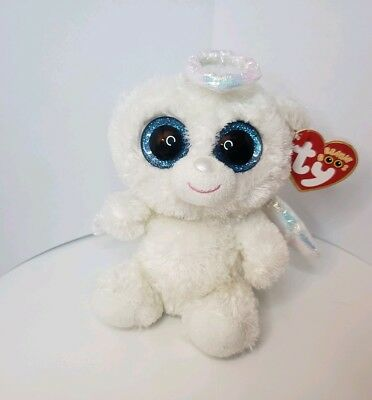 136fadca5a1 Ty Beanie Boos HALO the Angel Bear Wings 6