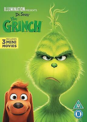 The Grinch Includes 3 mini movies DVD NEW Sealed PRE-ORDER 5053083181253