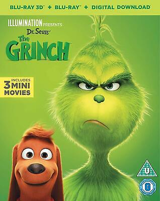The Grinch Includes 3 mini movies 3D Blu-ray & Blu-ray PRE-ORDER 5053083181260