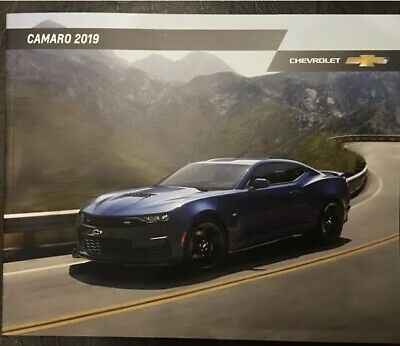 2019 CHEVY CAMARO 44-page Original Sales Brochure