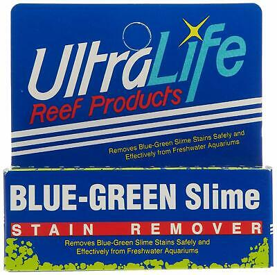 UltraLife BLUE-GREEN Slime Stain Remover Ultra Life for Freshwater Aquarium Tank