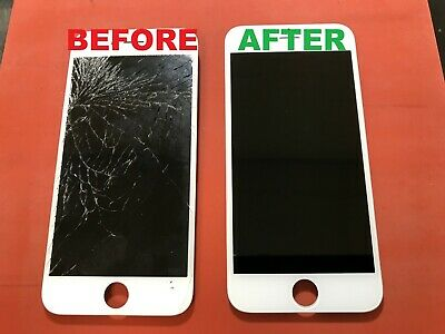 iPhone 6 Cracked Glass Broken Screen Repair Service OEM
