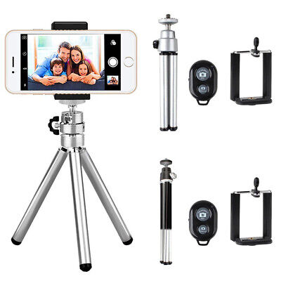 Professional Mini Camera Tripod Stand Holder Mount for iPhone Samsung Cell Phone