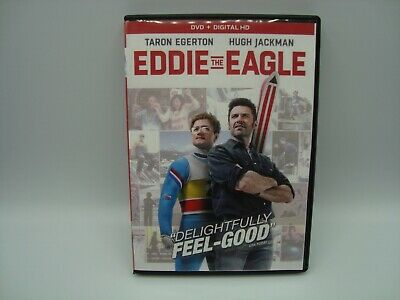 Eddie the Eagle (DVD, 2016) No digital code starring Taron Egerton, Hugh Jackman