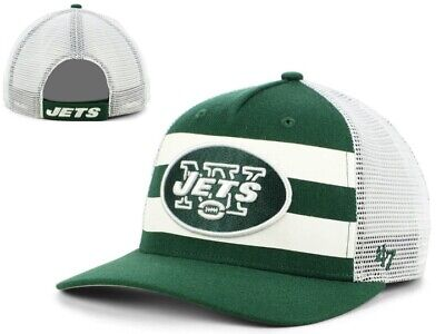 size 40 92a9c 02166 New NWT New York Yets NFL  47 Brand Team Stripe MVP Adjustable Cap Hat GD