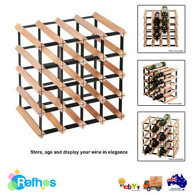 Wine Rack and Storage Timber - 20 Bottle