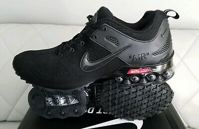 the best attitude 84ab9 18132 NEWEST Nike Air Shox Flyknit triple Black Shox Nz Mens Running Shoes SIZE 11