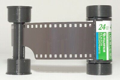 35mm to 120 film adapter - to use 35mm film in medium format cameras