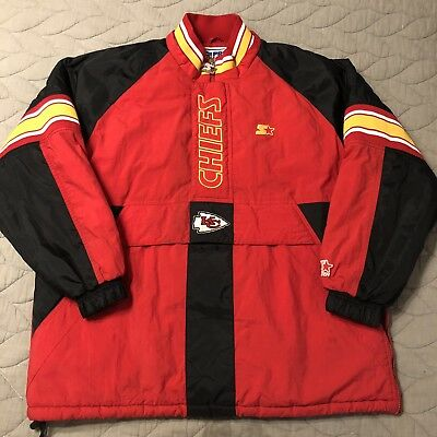 d28f17ea VINTAGE 90'S KANSAS City Chiefs Youth Small Pro Line Starter ...