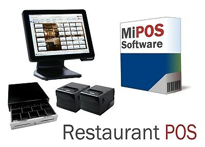 Restaurant POS System suitable for Restaurants with Table Service