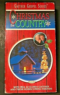 Bill Gloria Gaither Homecoming Friends Gospel Music Christmas In The Country VHS