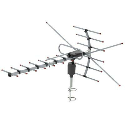Leadzm 4K 150mile 1080P Outdoor Amplified TV Antenna Digital HD TV 360°UHF/VHF