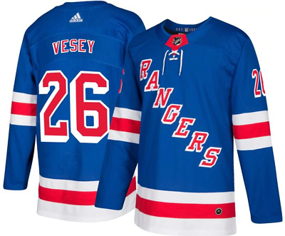 b9fea0a3f adidas Men s New York Rangers Jimmy Vesey Authentic Jersey ~ Size 52 (Large)