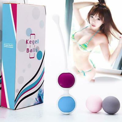 764A Hot Vagina Tightening Ball Weighted Wa Inner Beads Exercise 4Balls New