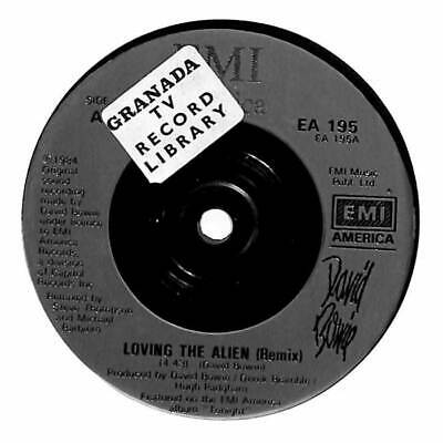"David Bowie - Loving The Alien (Re-mixed Version) - 7"" Record Single"