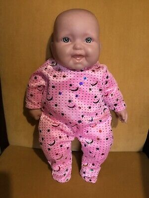 Realistic Berenguer Baby Doll Soft Torso Vinyl Head & Limbs 38cm Tall Excell