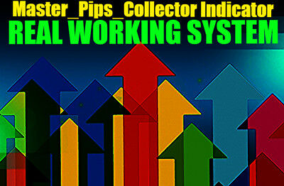 Forex PROFITABLE Master_Pips_Collector Indicator 1650+ pips per 2.5 months!