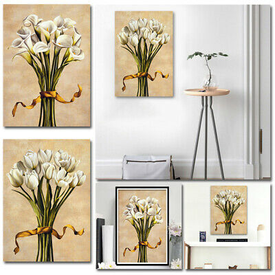 Flowers Canvas Wall Art Photo Unframed Printing Painting Picture Room Home Decor