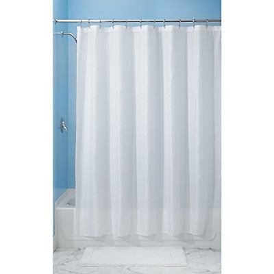 Home Modern Extra Long 96 Inch Fabric Shower Curtain Liner