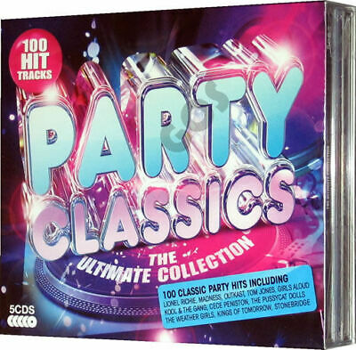 Various - Party Classics (Ultimate Collection) 5xCDs (2013) - NEW