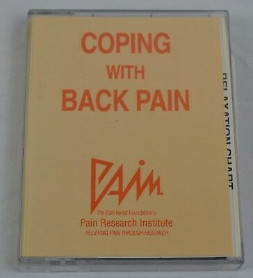 Coping With Back Pain Audio Cassette Book Relief Foundation Research Institute