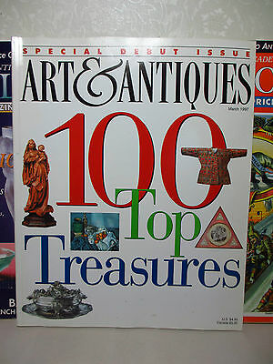 11 Issues Mixed Lot of Various Art Antique & Collecting Magazines & Price Guides
