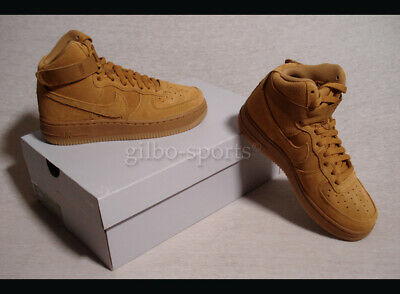 buy popular a697b 9972c Nike Air Force 1 High LV8 GS Leather Wheat Light Brown Gr. 36 36,